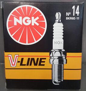 6x-NGK-V-Line-14-Bujia-bkr6e-11-6465-VL14-SUBARU-NISSAN-MAZDA