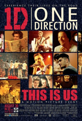 2013 Movie Poster - Niall Horan NEW 24x36 One Direction This Is Us