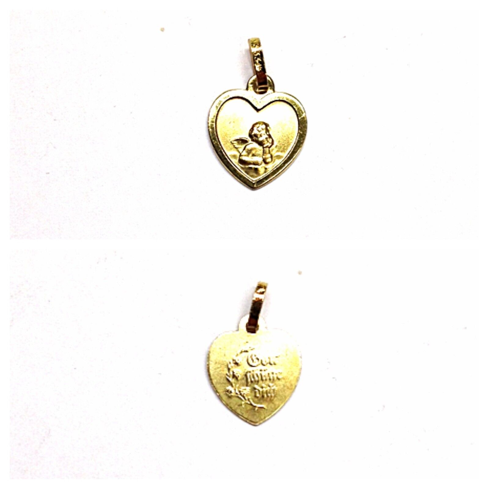 Colgante 333 gold gold Colgante Motivo  Ángel Predección divina a ti