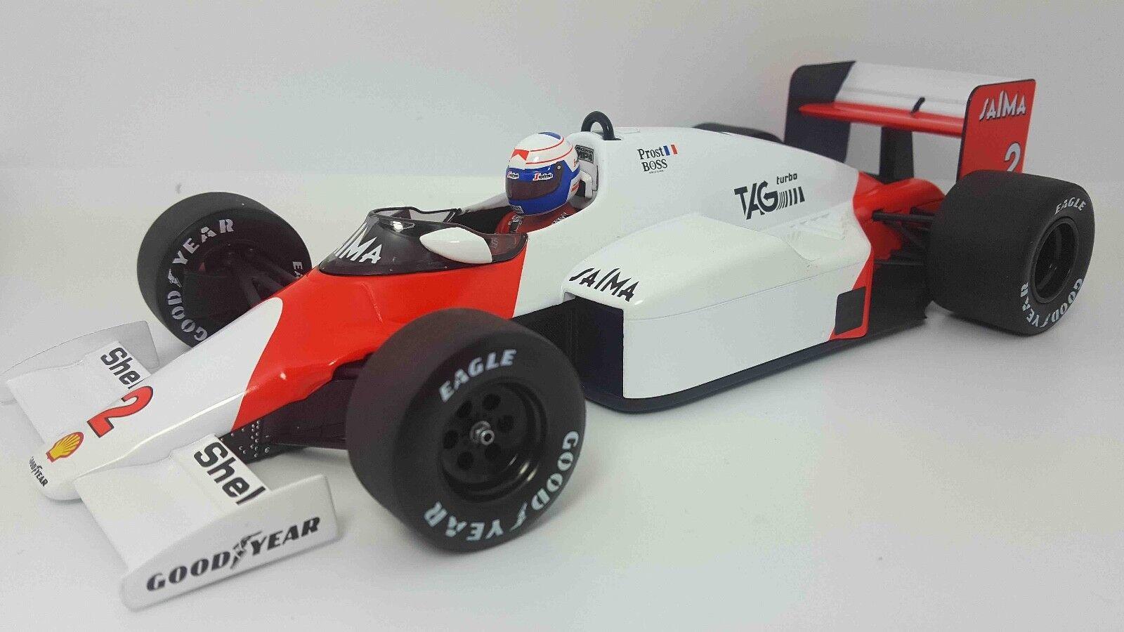 MINICHAMPS 530851802 1 18 1985 McLaren TAG MP4 2B Alain Prost modèle F1