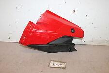 10 Ducati Streetfighter 1098s Left Lower Bottom Belly Side Fairing Cowl