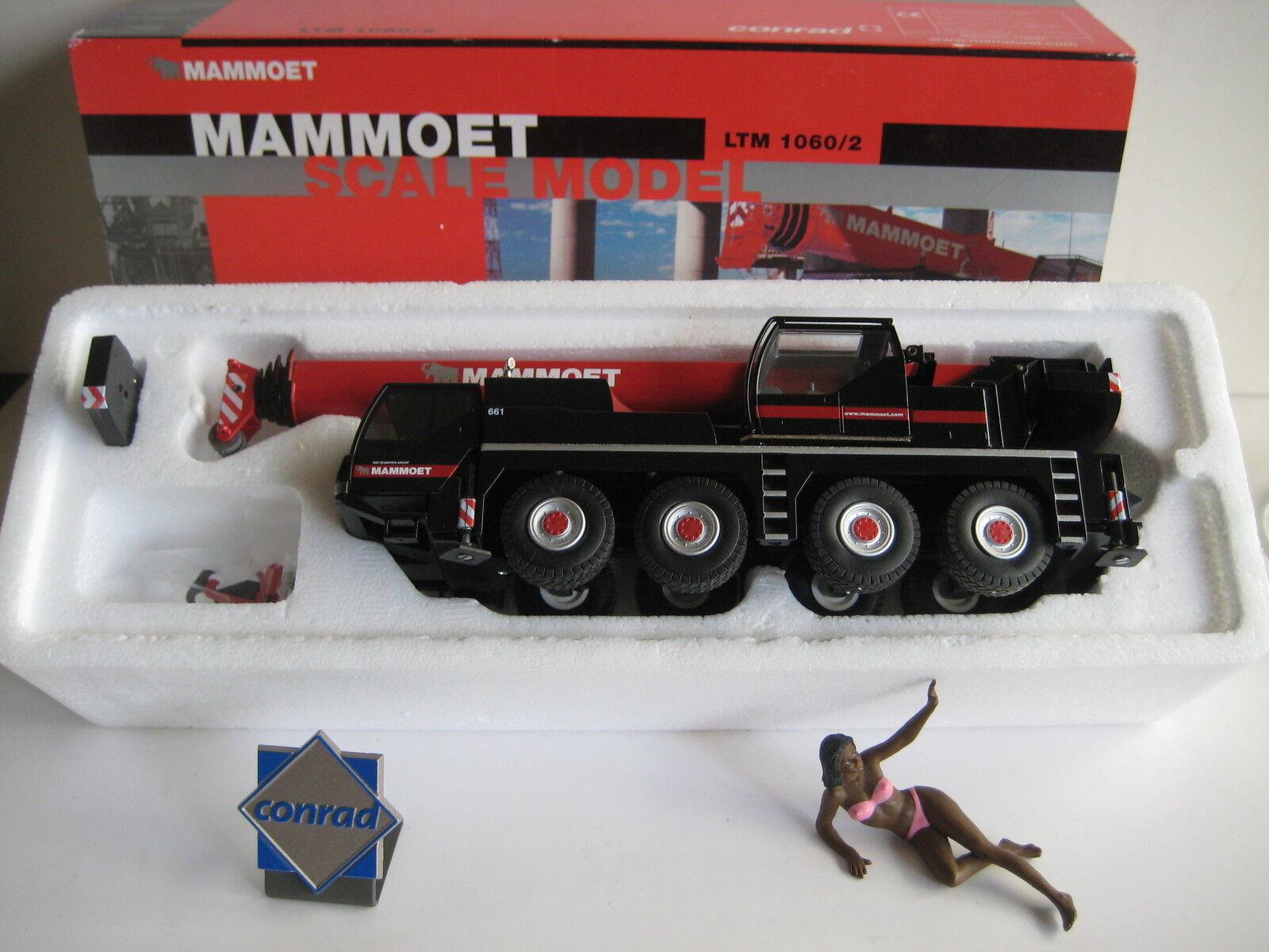 Liebherr LTM 1060-2 Autokran MAMMOET  2094.38a CONRAD 1 50 NEUF dans sa boîte