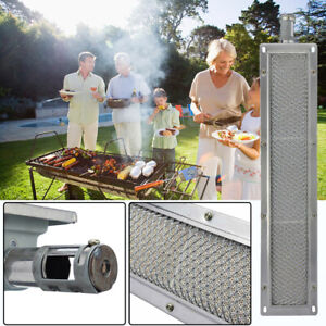 New-BBQ-Barbecue-Infrared-Burner-Gas-Grill-Ceramic-Stainless-Steel-Burner-8-Size