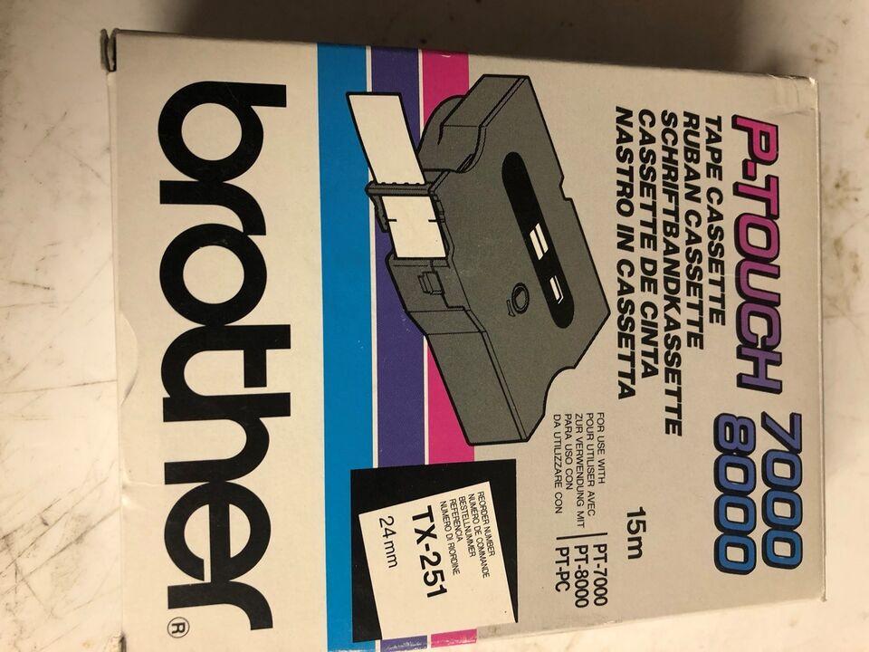 P-Touch 7000 /8000 tape casette