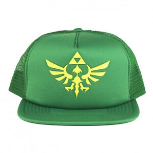 NEW-Official-Nintendo-THE-LEGEND-OF-ZELDA-SKYWARD-SWORD-Mens-VIDEO-GAME-ERA-HAT