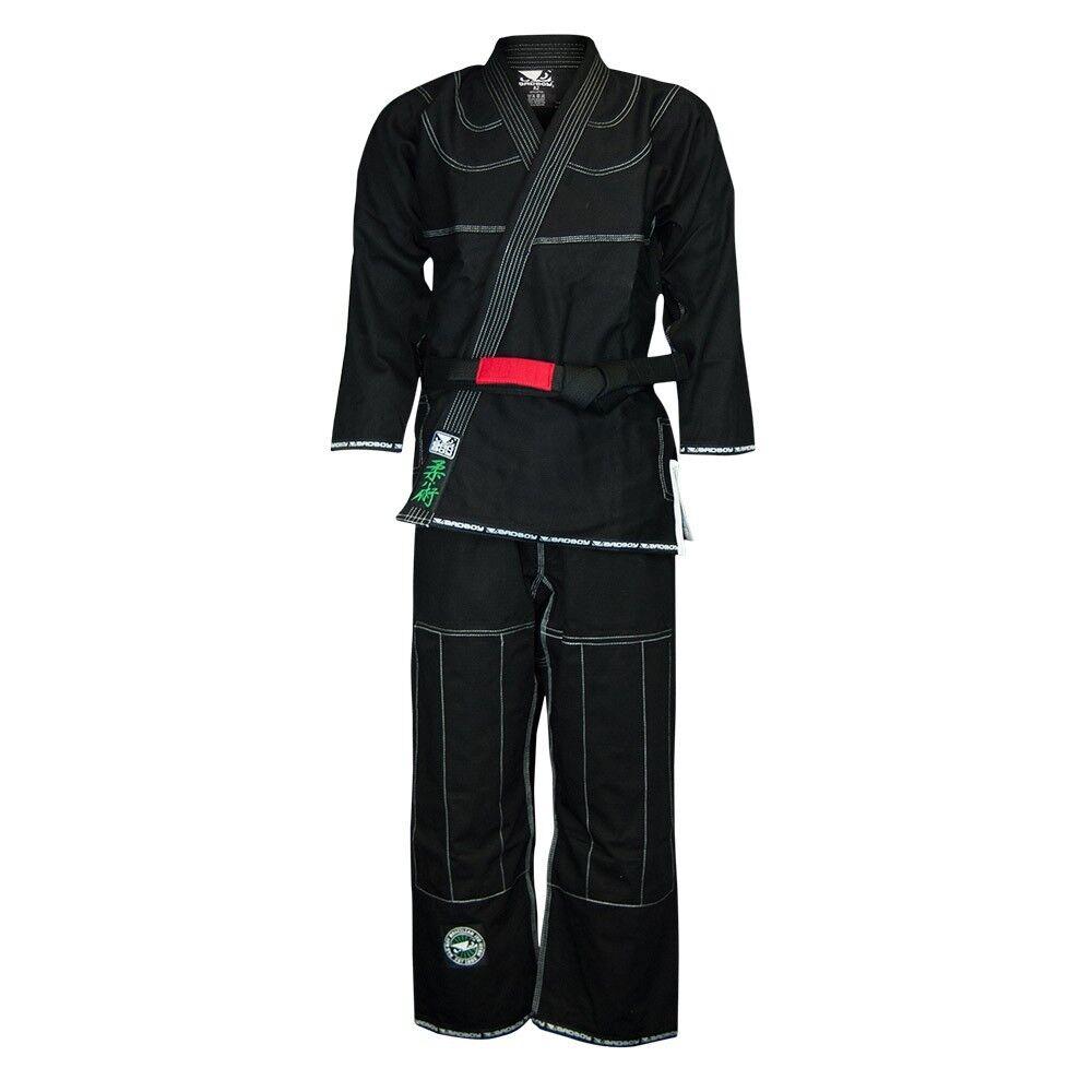 Bad Boy Mma Wettbewerb Bjj Uniform Gi Schwarz Kampfsport Ju Jitsu Anzug Jiu