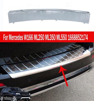 Genuine Mercedes Rear Bumper Step Plate Chrome Cover ML350 ML550 1668852174