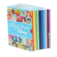 The Magical World Of Disney: 30 Book Box Set Paperback Pixar Ages 3+