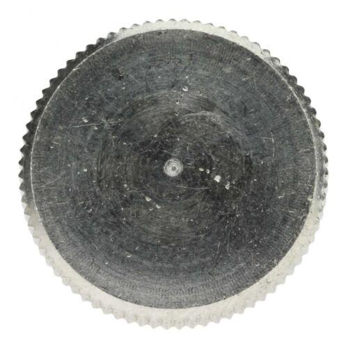 25 x DIN 464 Rändelschrauben M 4 x 20 A1 blank hohe Form
