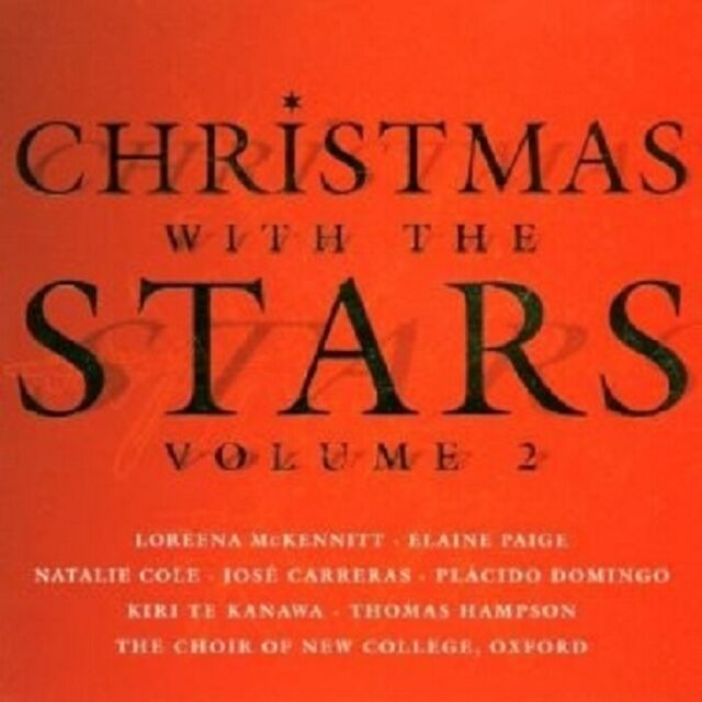 MCKENNIT/CARRERAS/DOMINGO/+-CHRISTMAS WITH THE STARS 2  CD CHOR WEIHNACHTEN NEU