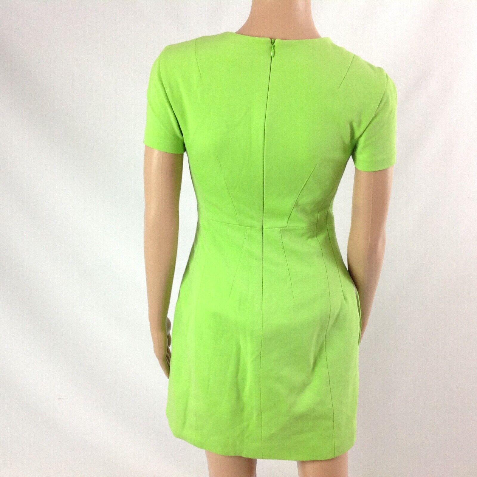 Diana von Furstenberg Agatha Knit Suiting Lime Gr… - image 7