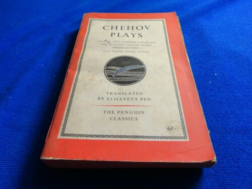CHEHOV PLAYS TRANSLATED BY ELISAVETA FEN SMALL PB BOOK!