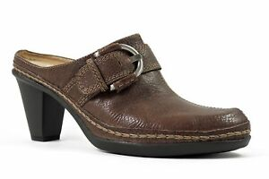 Naturalizer-Women-039-s-Drifter-Mules-Coffee-Bean-Brown-Leather-Size-7-M