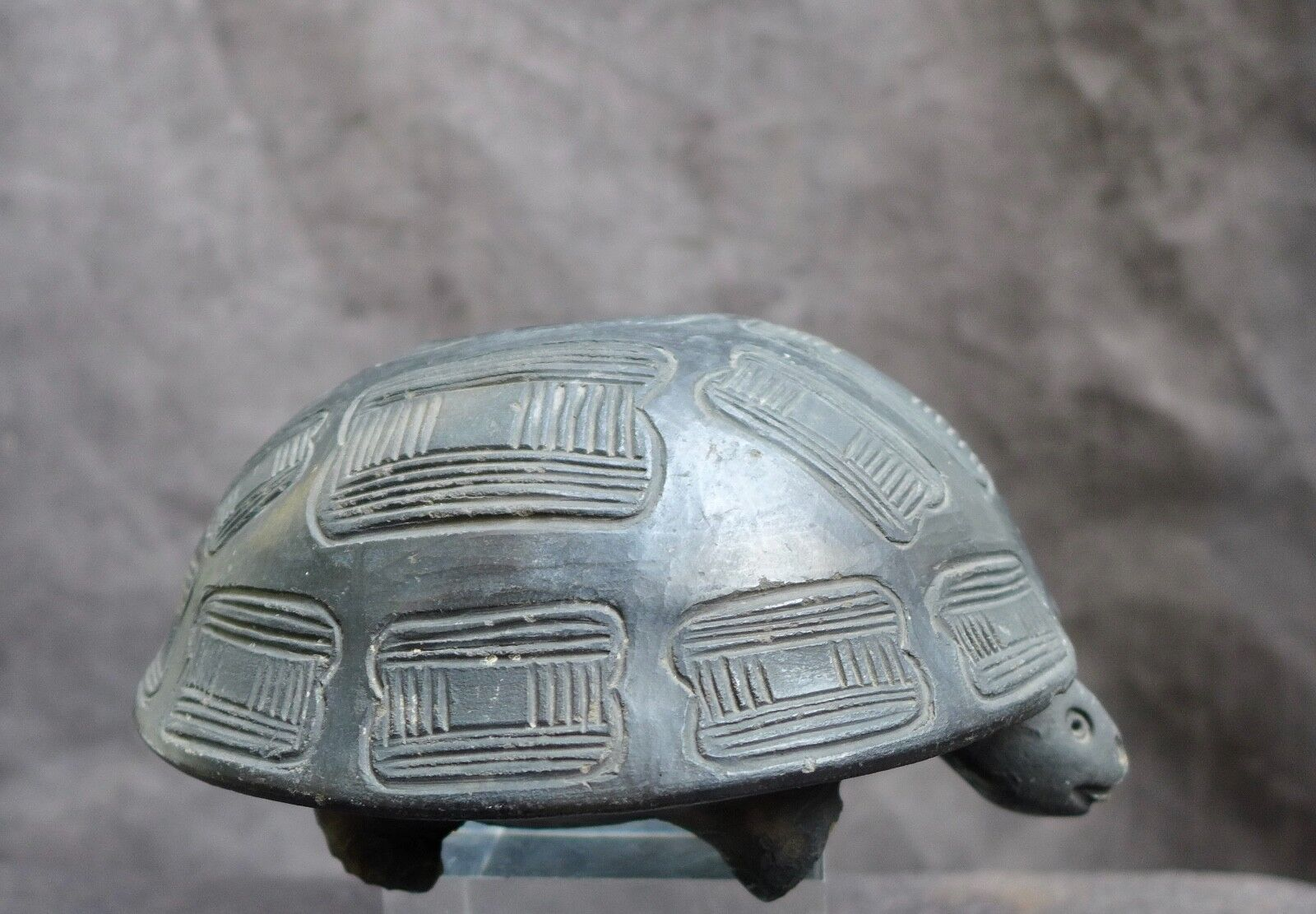 Nice old pottery turtle whistle North U.S.A  20 C.
