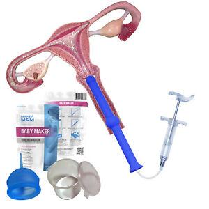 Babymaker Home Kit For Insemination Device Sperm Syringe Pregnancy Fertility Ttc Ebay