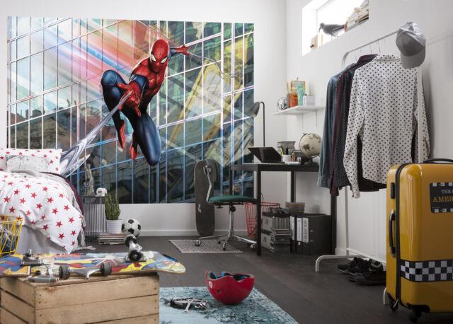 Large size wall mural wallpaper for kids room MARVEL Spiderman comics superhero