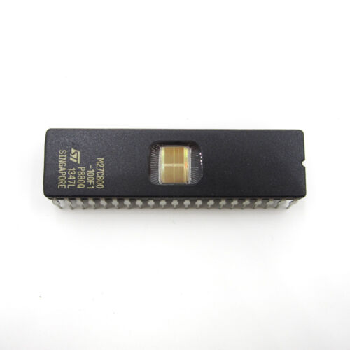5pcs M27C800-100F1 27C800 ST IC EPROM UV 8MBIT 100NS 42CDIP