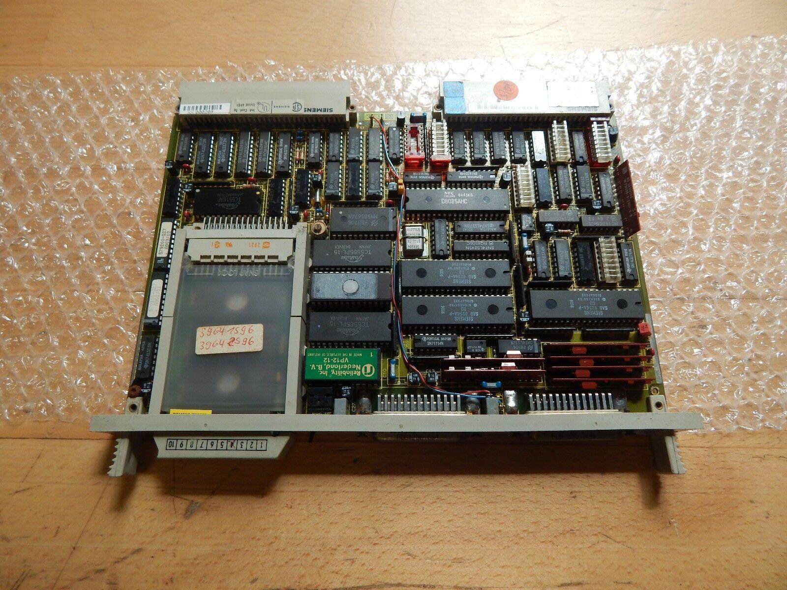 Siemens Simatic 6ES5525-3UA21 mit Eprom 6ES5373-0AA41