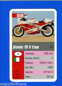 GCG-SUPERCARTINE-SCHMID-Figurina-Sticker-n-8B-BIMOTA-YB-6-EXUP