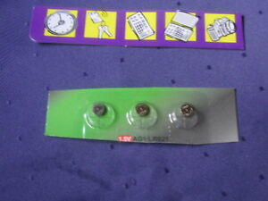 07-2020 Sammlung Hier 3 X Lr621 Ag 1 1,5 Volt Batterien Knopfzellen Mhd neu