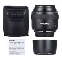 Yongnuo Yn85mm 85mm F1.8 Lens Kit For Canon 80d T6i T6 70d 5d 6d T4i 750d Filter
