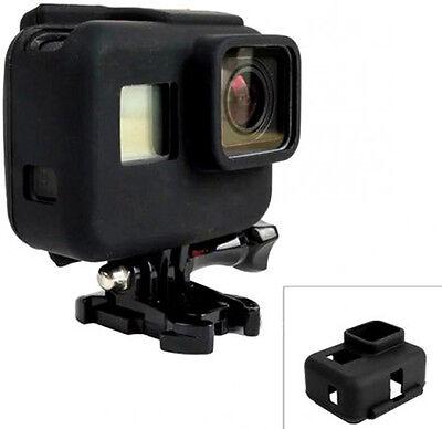 GoPro HERO 5 6 7 Silicon Soft Case Protective Skin Black Rubber Cover **NEW**