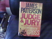 Judge & Jury by James Patterson+Andrew Gross Hardback English Genre Fiction None