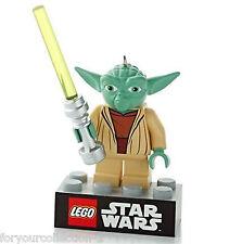 Hallmark 2013 Yoda Lego Star Wars Ornament