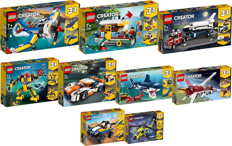 LEGO Creator 31094 31093 31092 31091 31090 31089 31088 31087 31086 n1 19