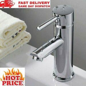 NEW Cloakroom Chrome Bathroom Modern Mini Basin Sink Mono Mixer Tap Brass Faucet