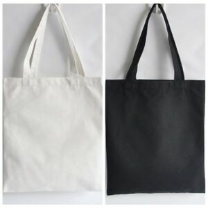 Diy Blank Canvas Tote Bag Women Per