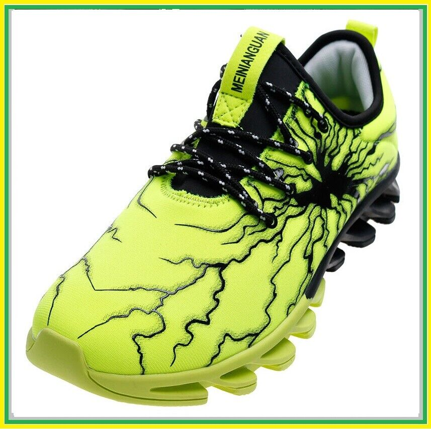 Men Women shoes Blades soles Lightning glue surface Sneakers Casual Elasticity