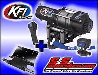 3000 Lb Kfi Steel Winch Mount Combo -honda Foreman 400 95-03 And 450 98-04