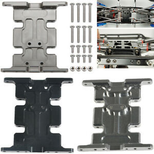 CNC Metal Transmission Center Skid Plate For Axial SCX10 1//10 RC Crawler Car