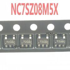 100 PCS NC7SZ08M5X TinyLogic UHS 2-Input AND Gate SOT23-5 New FSC