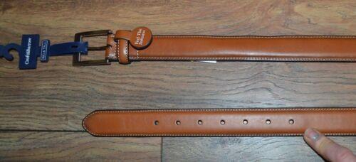 Croft /& Barrow Tan Belt Big /& Tall Sizes Imitation Leather  Feel the Softness
