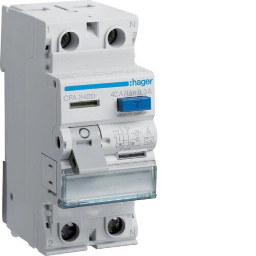 Hager FI Fehlerstromschutzschalter Fehlerstromschutzschalter Fehlerstromschutzschalter Sicherungsautomat Leitungsschutzschalter MBN    Berühmter Laden  71aa5a