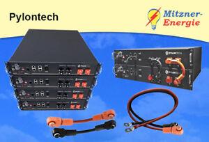 Pylontech LiFePO 4 48 v-lithium d/'électricité de stockage 2,4//4,8//7,2//9,6 KWh