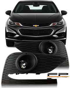 2017 2018 chevy cruze projector fog lights lamp complete kit switch 1972 Chevy Truck Wiring Harness image is loading 2017 2018 chevy cruze projector fog lights lamp