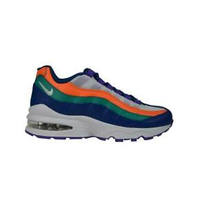 low priced bd8af 900b6 Image is loading Juniors-Kids-NIKE-AIR-MAX-95-Gym-Blue-