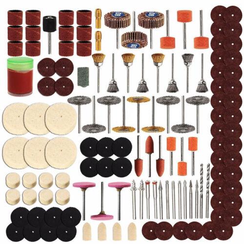 Schleif polierend Heiss 350pcs//Set Rotationswerkzeug Zubehörset für Schleifen