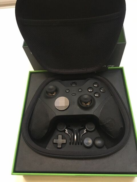 Microsoft Xbox Elite Series 2 Wireless Controller - Black in Box