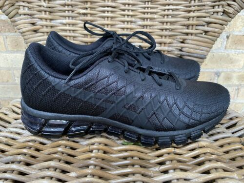 Asics Athletic Shoes Sneakers Mens 9 Black 1021A10