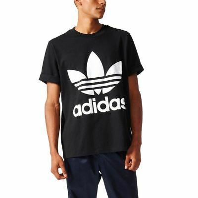 Clothing, Shoes & Accessories 2019 New Style {bk7175} Men's Adidas Originals Ac Boxy Tee Black/white *new!* High Quality And Inexpensive