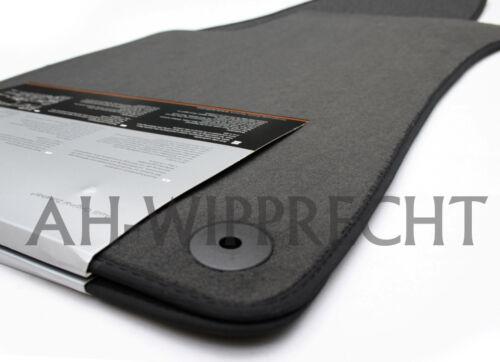 Original Audi RS4 A4 8E B6 B7 Fußmatten Velours Stoffmatten Tuning Premium Matte
