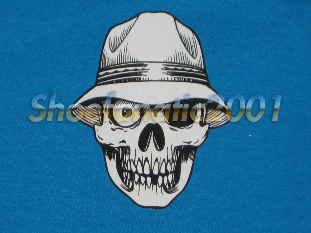 Stussy Neighborhood Conspiracy Boneyard Shirt L Skull Cartoon Clot Japan
