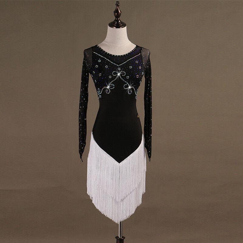 NEU Latino salsa Kleid TanzKleid LatinaKleid Latein Kleid Turnierkleid FM267