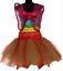 Adult Womens Tutu Costume //Fairy dress 7 Layer Rainbow