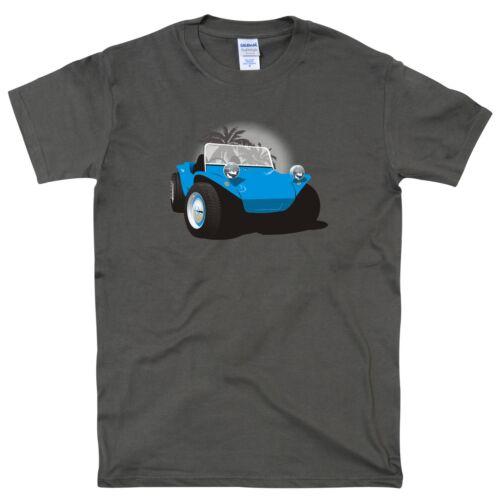 Classic Beach Buggy Dune Buggy Retro T Shirt Tee Car no text