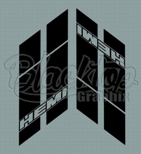 2016 2017 2018 RT DAYTONA SCAT PACK Dodge Charger HEMI Style Hash Stripes 2011